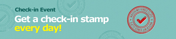 Check-in Event(Get a check-in stamp every day!)